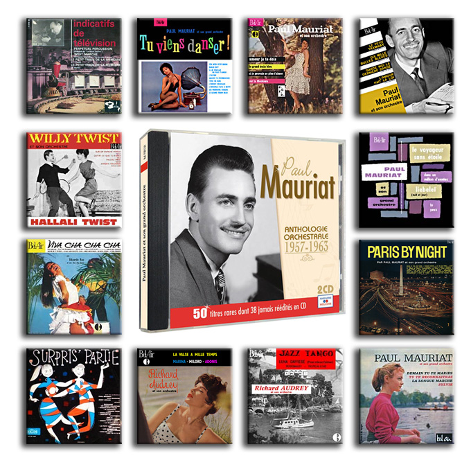 2015 Paul Mauriat anniverary collection 1957-1963(1)